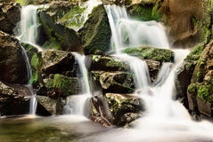 Waterfall in Hungary Royalty Free Stock Photos