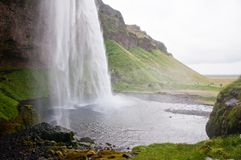 Waterfall, Iceland Royalty Free Stock Photo