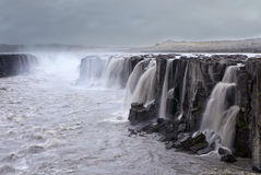 Waterfall, Iceland Stock Images