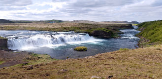A Waterfall, Iceland Royalty Free Stock Photo
