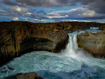 Waterfall Iceland stock images