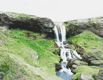 WATERFALL ICELAND Royalty Free Stock Photos