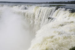 Waterfall Iguacu Stock Photo