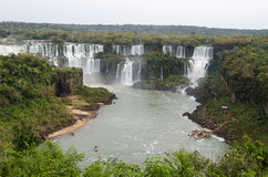 Waterfall Iguacu Royalty Free Stock Photography