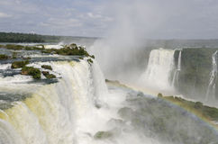 Waterfall Iguacu Royalty Free Stock Photos
