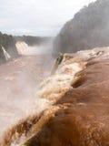 Waterfall at Iguassu Falls Stock Photos