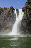 Waterfall. In the Iguasu. Argentina Royalty Free Stock Photography