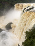 Waterfall at iguazu falls Royalty Free Stock Photos