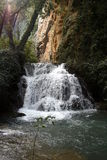 Waterfall II Monasterio de Piedra Royalty Free Stock Images