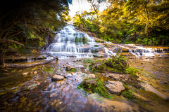 Free Waterfall In Blue Mountains National Park Stock Photography - 73561832