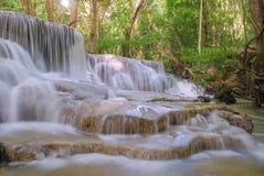 Free Waterfall In Deep Rain Forest Jungle (Huay Mae Kamin Waterfall) Royalty Free Stock Photography - 46224357