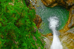 Free Waterfall In Forest Royalty Free Stock Photos - 44319078