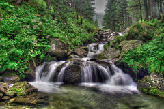 Waterfall In National Park Rila Royalty Free Stock Photos