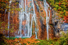 Free Waterfall In Plitvice Lakes National Park Stock Image - 18310051