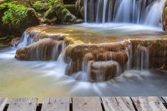 Free Waterfall In The Tropical Forest Royalty Free Stock Image - 79401016