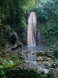 Waterfall In Tropical Forest Stock Image