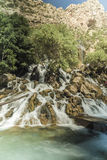 Waterfall in Iraq Stock Image