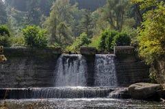 Waterfall at Iskar river by Kokaliane village Royalty Free Stock Photography