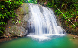 Waterfall of island of Siquijor. Philippines Royalty Free Stock Image