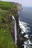 Waterfall isle of skye Royalty Free Stock Photo