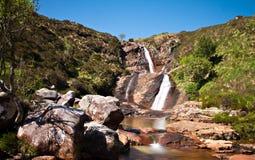 Waterfall on the Isle of Skye Stock Image