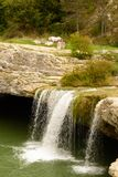 Natural wonder in Istria , Croatia. Waterfall in Istria region , Croatia royalty free stock photos