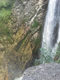 Waterfall in Italy Royalty Free Stock Photos