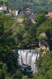 Waterfall of Jajce Royalty Free Stock Photo