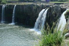 """Waterfall. Japan's Kyushu waterfall """"waterfall of Harajiri Stock Images"""