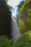 Waterfall, Java, Indonesia Royalty Free Stock Images
