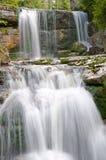 Waterfall Jedlove, Czech republic Stock Photo