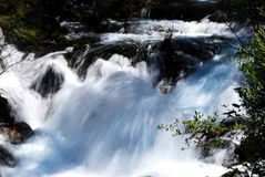 Waterfall of Jiuzhai Valley Royalty Free Stock Photos