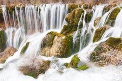 Waterfall in Jiuzhaigou Royalty Free Stock Photos