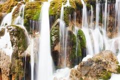 Waterfall in Jiuzhaigou Stock Image