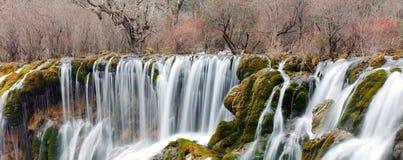 Waterfall in jiuzhaigou Stock Photos