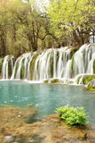 Waterfall Jiuzhaigou landscape China Stock Photos