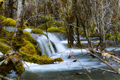 Waterfall in Jiuzhaigou National Park, China Stock Images