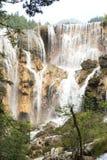 Waterfall at jiuzhaigou national park in china Royalty Free Stock Photography