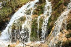 Waterfall at jiuzhaigou national park in china Stock Images