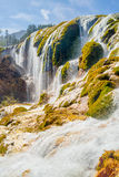 Waterfall in Jiuzhaigou Valley in Sichuan province, China Stock Photo