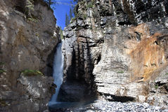 - Waterfall at Johnston Canyon Banff Stock Images