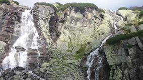 Waterfall Jump stock video footage