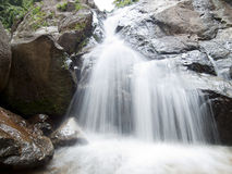 Waterfall in the jungle Royalty Free Stock Photography