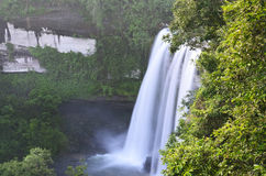 Waterfall in the jungle Stock Photography