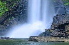 Waterfall in the jungle Stock Photo