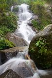 Waterfall in jungle near Chiang Rai Royalty Free Stock Photos