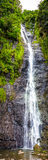 Waterfall in jungle Royalty Free Stock Photography