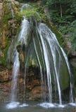 Waterfall Jur-Jur. Crimea mountain streams and waterfalls Stock Photo