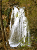 Waterfall Jur-Jur in Cremea. Royalty Free Stock Image
