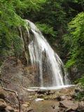 Waterfall Jur-Jur, Ukraine, Crimea Stock Images